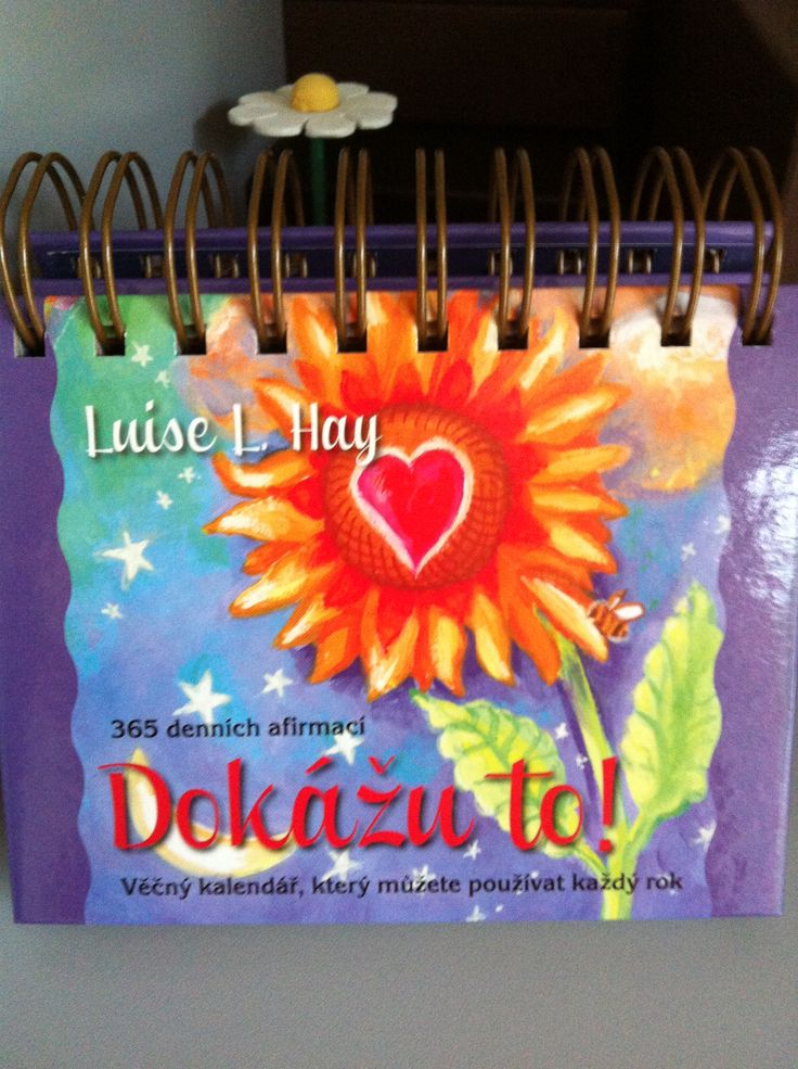 Everyday affirmations calendar from Louise L. Hay