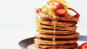 Pancakes χωρίς αβγά και γάλα. Εύκολα, πεντανόστιμα και νηστίσιμα