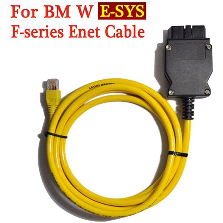 ESYS 3.23.4 V50.3 ENET Ethernet do OBD Kabel Do Transmisji Danych Dla bmw OBDII 2 Interfejs Danych E-SYS ICOM Kodowania dla F-serie Uwalnia Statek