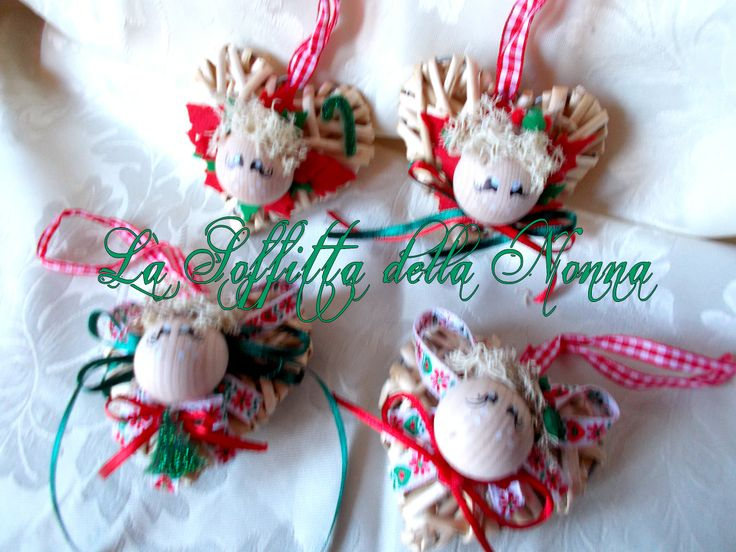 Estremamente 118 best MY HANDMADE CHRISTMAS DECORATIONS images on Pinterest  LY34