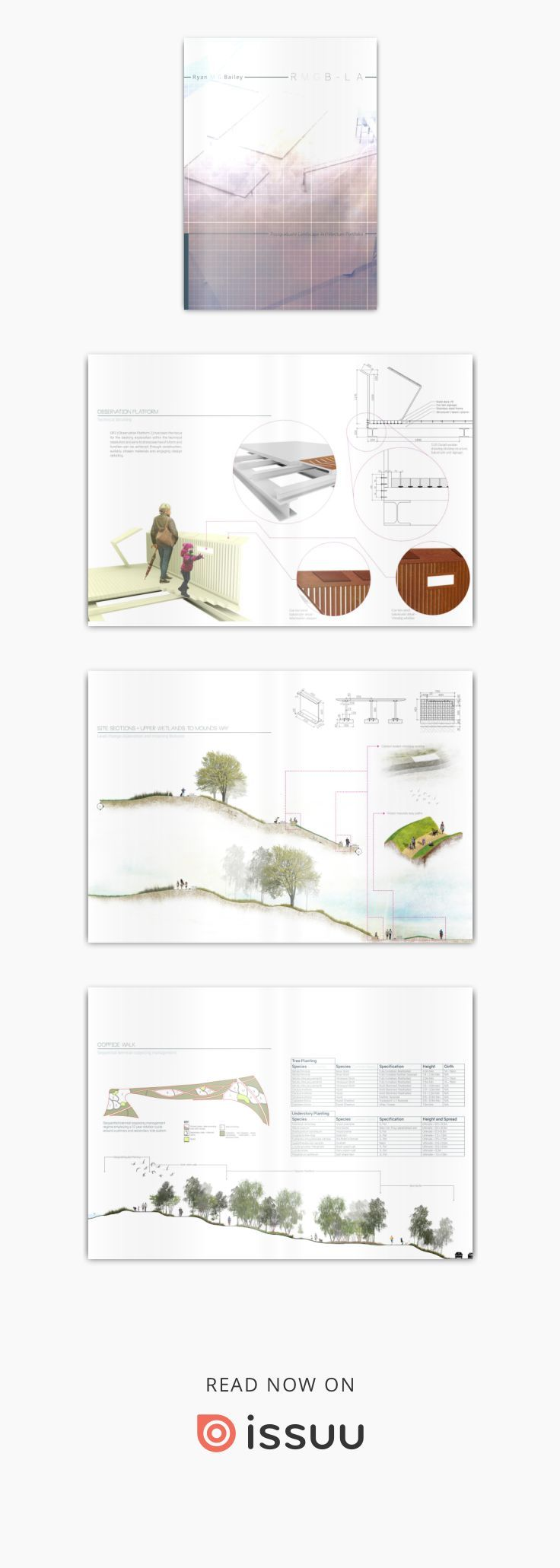 RMGB - postgraduate landscape architecture portfolio vol 2  Portfolio of completed works during my MA degree, year-out experience and BA degree
