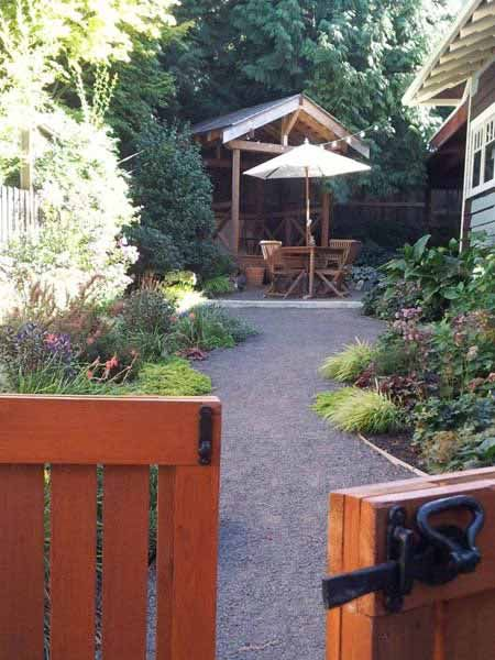 These homeowners replaced their muddy, weed-filled yard with a teahouse and garden now enjoyed by the whole family. | thisoldhouse.com