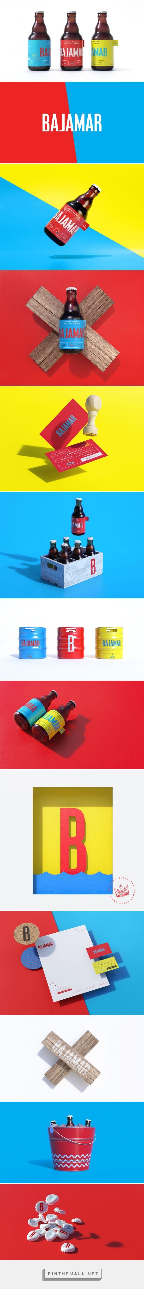 Bajamar beer packaging design by Shift - https://www.packagingoftheworld.com/2018/02/bajamar.html