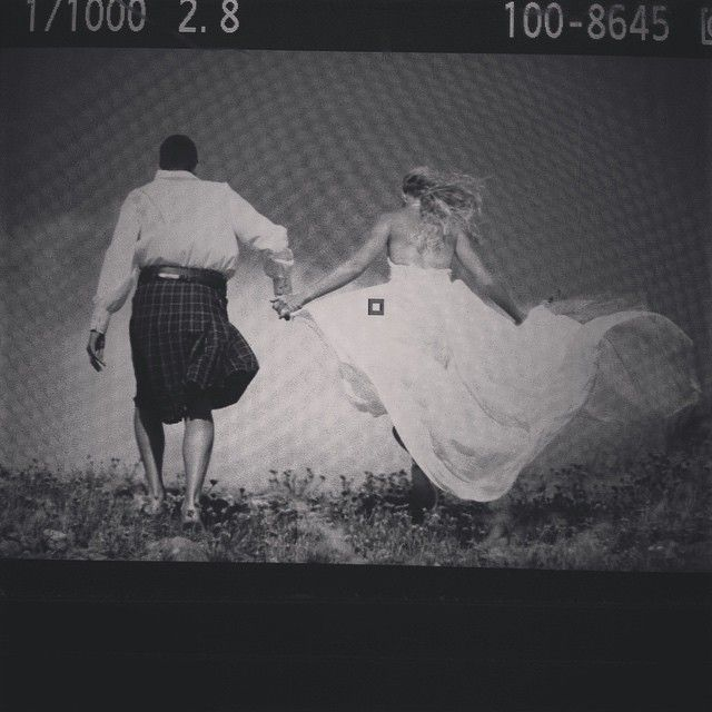 It blows like crazy but the couple is still going on! After #wedding photo shooting in #Limnos #panteliz #pantelizphotography