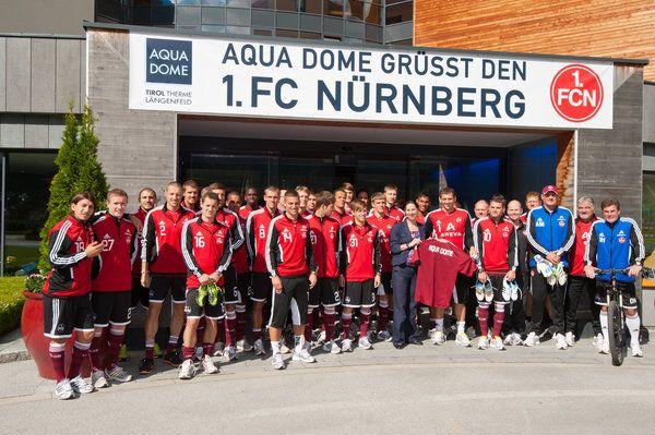 Fußballprofis vom 1. FC Nürnberg, Dinamo Zagreb und aus Katar gastieren im AQUA DOME - - Imst - meinbezirk.at