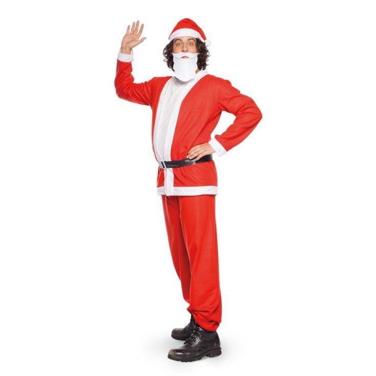 Kerstman Pak Heren 5-delig