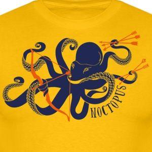 Noctopus - Männer T-Shirt