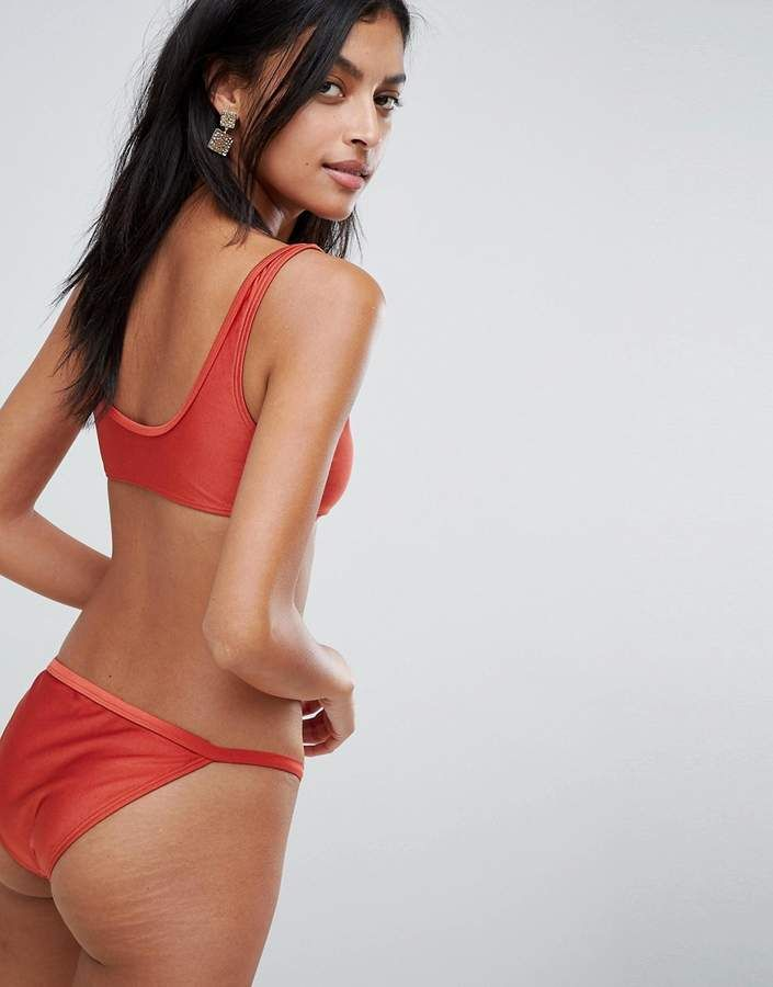 Bikini Bikini Shiny Bikini High Waist Swimsuit Bathing Suit