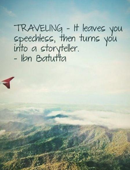 Reisen – zuerst macht es dich sprachlos und dann zu einem Geschichten-Erzähler… – Lomemi Moel