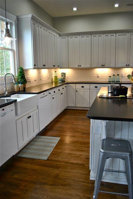 one very pretty Farmhouse Kitchen