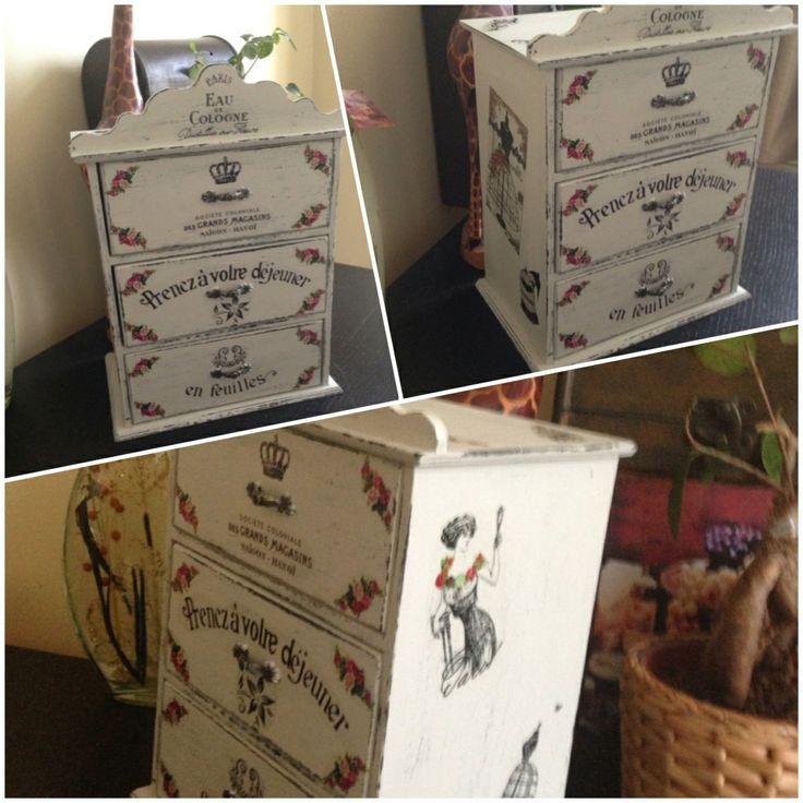 Vintage#takı kutusu#ahşap boyama