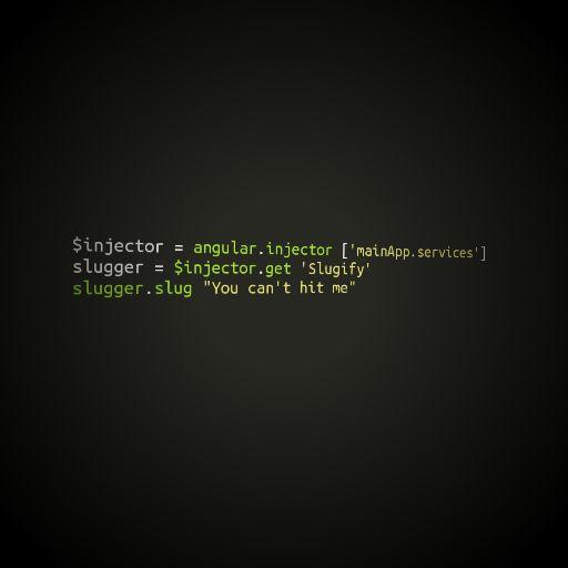 Angular Slugger | Instacode