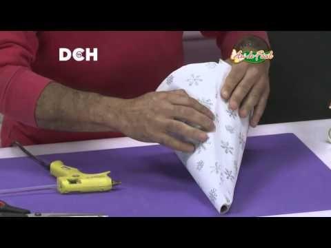 DIY como vestir y decorar HADA elegante fácil decoración navideña - YouTube