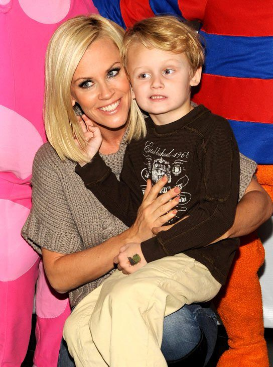 "New Report Says: Jenny McCarthy's Son May Not Have Had Autism After All- A new article in Time magazine — which Jenny was interviewed for — suggests Evan suffers from Landau-Kleffner syndrome, ""a rare childhood neurological disorder that can also result in speech impairment and possible long-term neurological damage."""