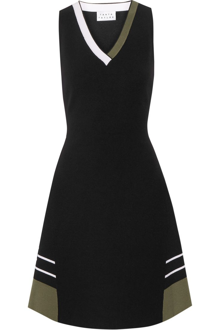 TANYA TAYLOR MINA STRETCH-KNIT MINI DRESS GBP198.75 http://www.theoutnet.com/product/762579