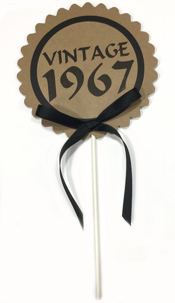 The 25 best 50th birthday cake toppers ideas on Pinterest 50th