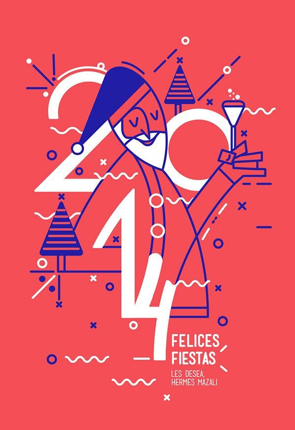 illustrator new year poster