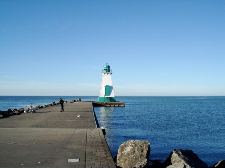 Port Dalhousie Lighthouse Lake Ontario