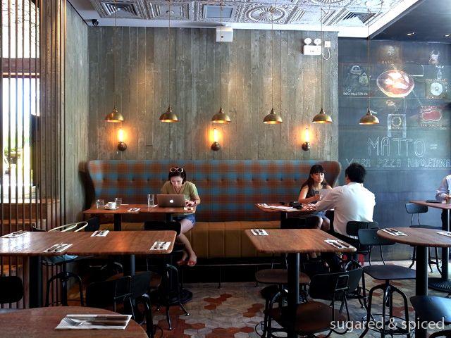 Matto Pizzeria Amp Bar Interior Design By Pure Creative