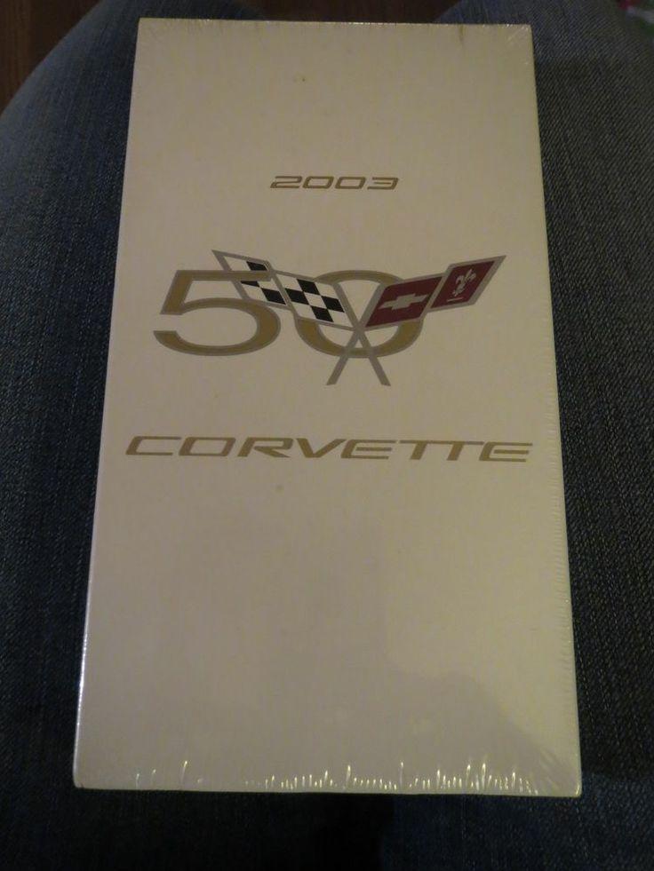 2003 Corvette Factory GM Original VHS Tape Brand New Sealed
