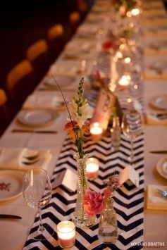 1000 Ideas About Chevron Table Runners On Pinterest