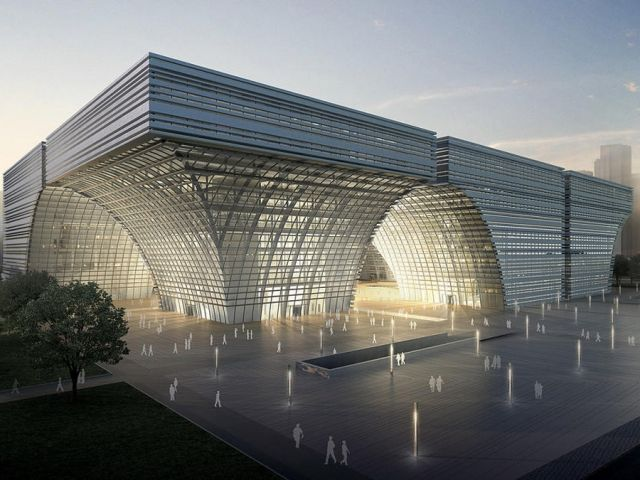 GMP Architectsb Win Changzhou Culture Centre Build