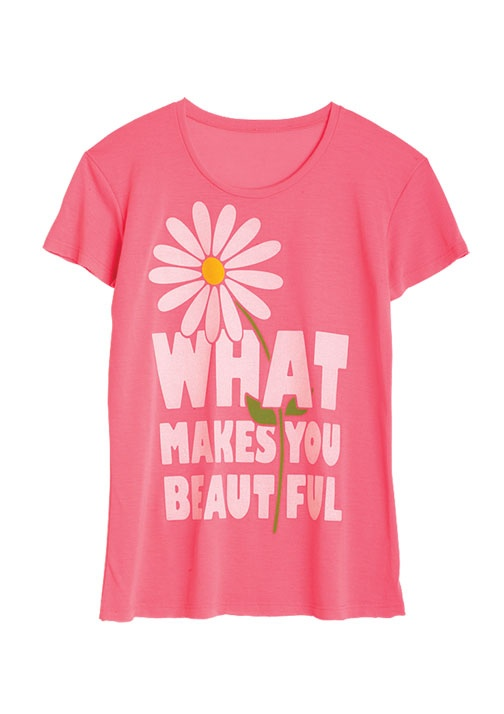 dELiAs > What Makes You Beautiful Tee > tops > graphic tees > view all graphic tees