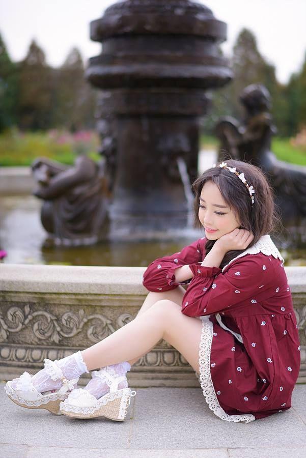 Tomia linda cosplayer de Corea