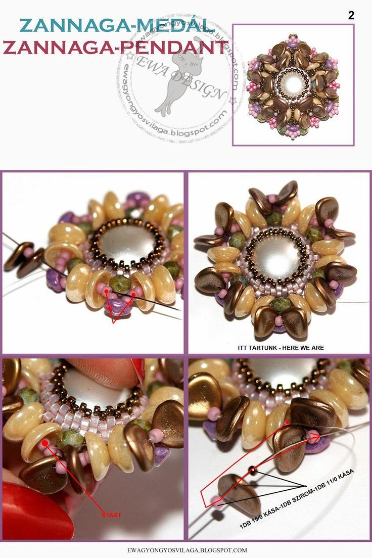 Blog: Zannaga medal minta zannaga pendant pattern :: ewagyongyosvilaga.blogspot.com page 2