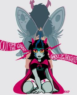 homestuck vriska serket idk terezi pyrope philart upd8 can i have my terezi and vriska reunion yet