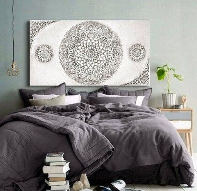 cuadros para dormitorios modernos de solteros