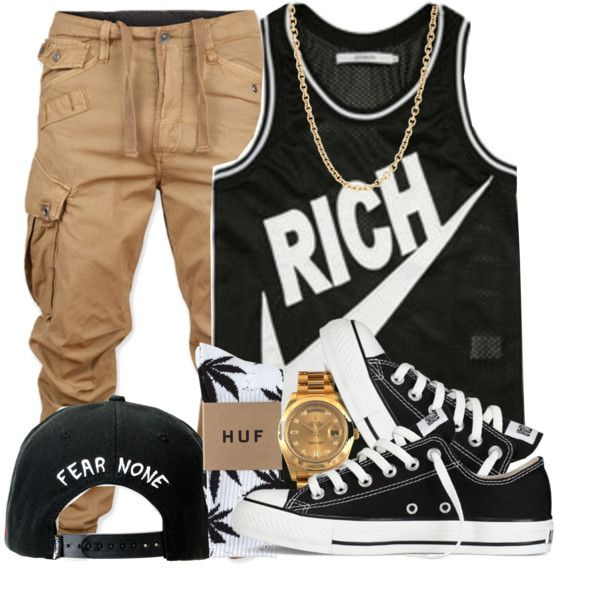 A fashion look from August 2013 featuring Joyrich tops, G-Star Raw and HUF socks. Browse and shop related looks.