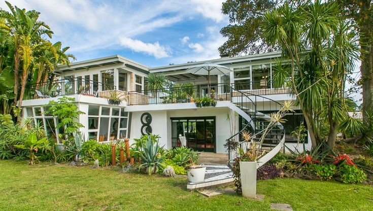 Berry, NSW - Bel-Air was built by veterinarian and Czechoslovakia refugee Grigor Borys (known locally as George) in 1956 and based on a design known as the P&O or liner style. Photo by Tim Shaw.  Pinned by Secret Design Studio, Melbourne. www.secretdesignstudio.com