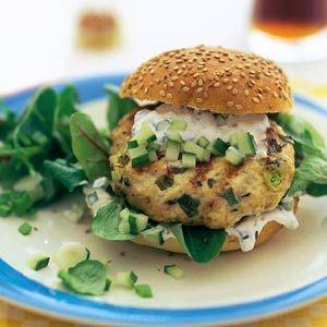 Recept - Kipburger - Allerhande