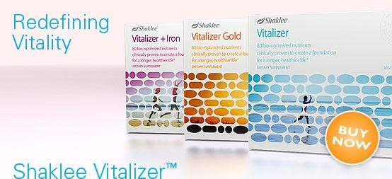 Shaklee Vitalizer keeps me healthy!