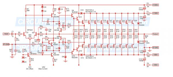 pa amplifier circuit diagram circuit diagram images. Black Bedroom Furniture Sets. Home Design Ideas