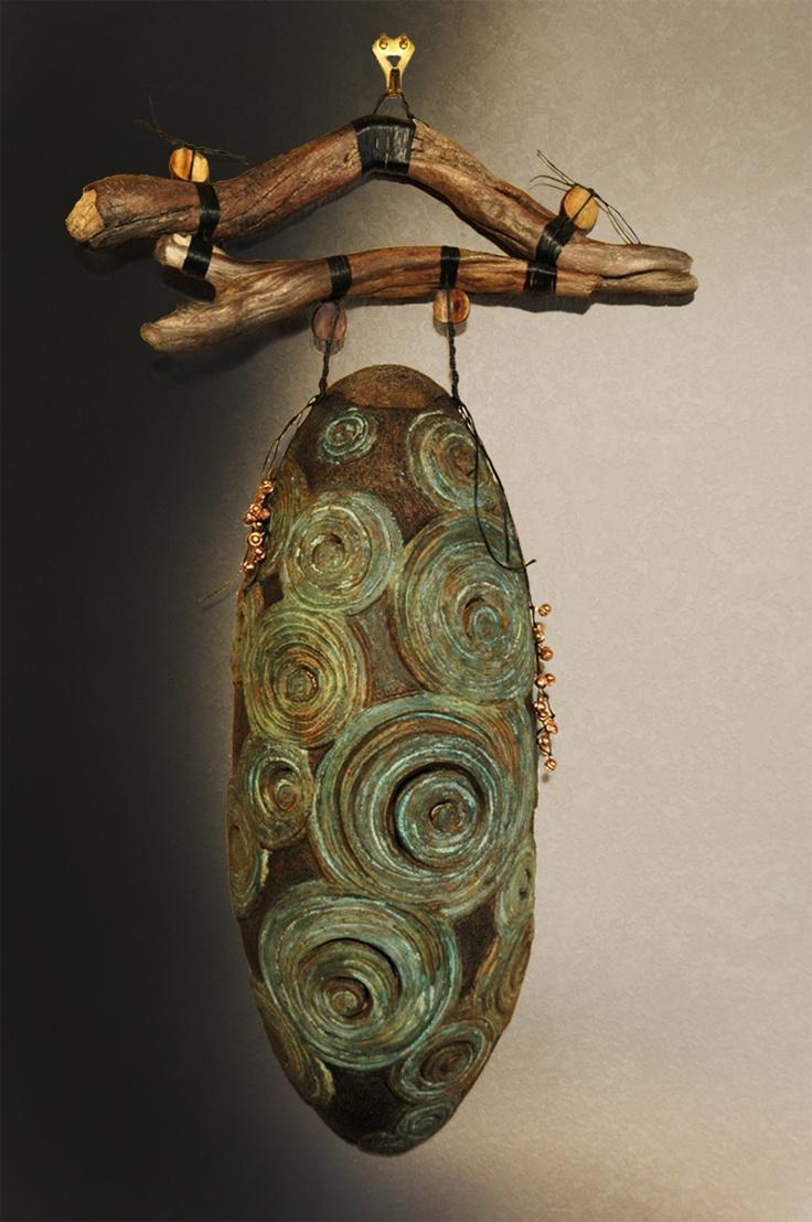"""""""Vortices"""" - Personal Shrine Series: Ceramic"""
