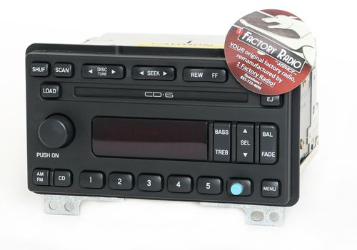 Reman & Bluetooth Mod SERVICE for 2003-04 Lincoln Aviator Radio AMFM 6 CD Player