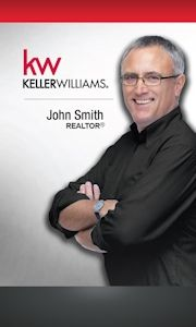 83 best keller williams business cards images on pinterest simple vertical keller williams business card idea cheaphphosting Gallery