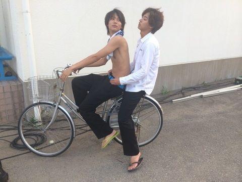 Kento Yamazaki x Taishi Nakagawa in Suikyu Yankees (Water Polo Yankees)