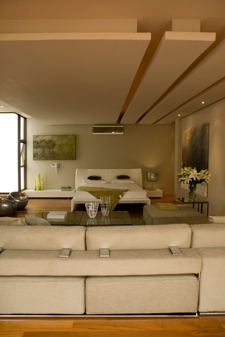 Nico Van Der Meulen Architects If this is sound dampening, this is a must. Love the ceiling.