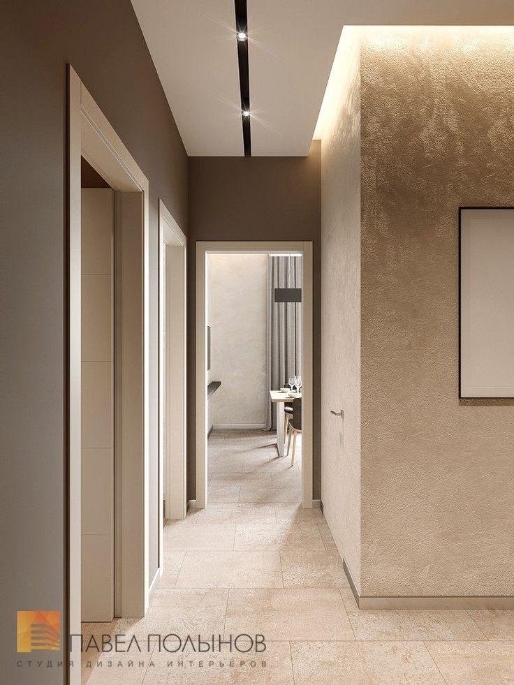 Фото дизайн интерьера холла из проекта «Дизайн двухкомнатной квартиры 80 кв.м. в современном стиле, ЖК «Duderhof Club»»