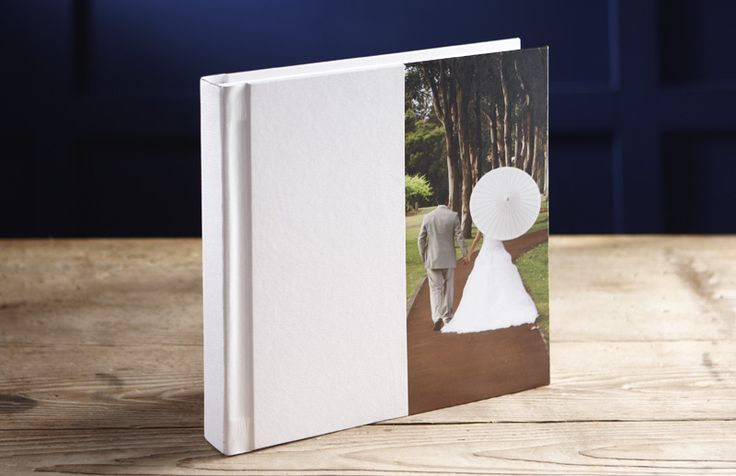 Jorgensen Albums: classic white with Photocover