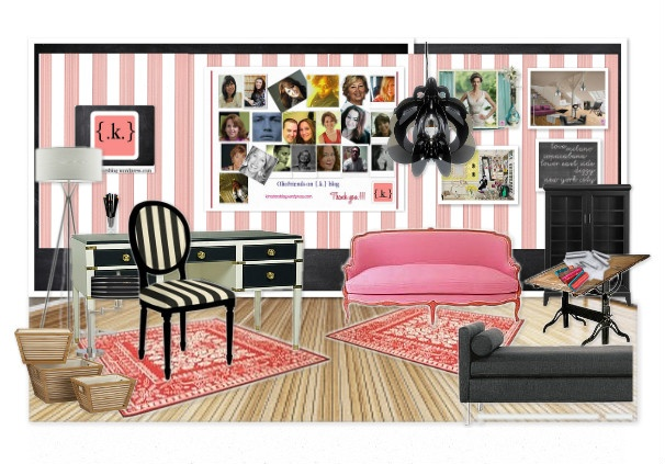 This design is by my very special Olioboard friend Konstadina.  She is from Greece and is a wonderful warm and caring individual.  She's been extremely kind to spotlight so many of her Olioboard friends on her blog kinteriorsblog.wordpress.com.  Konstadina's blog contains photos of beautiful rooms with amazing decorating ideas!  It's definitely worth checking out!