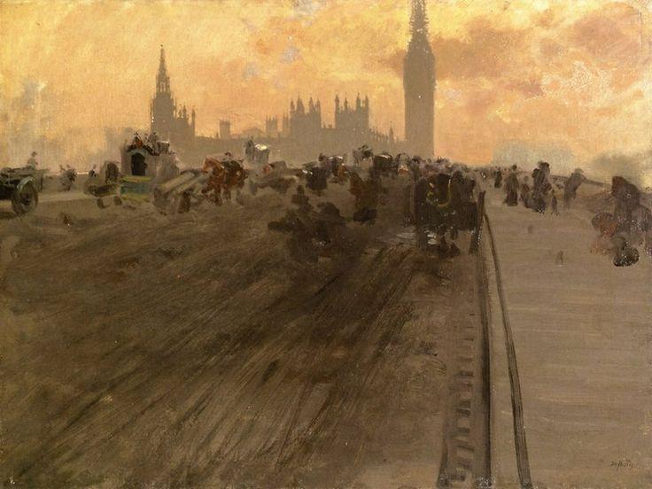 Westminster Bridge Giuseppe De Nittis