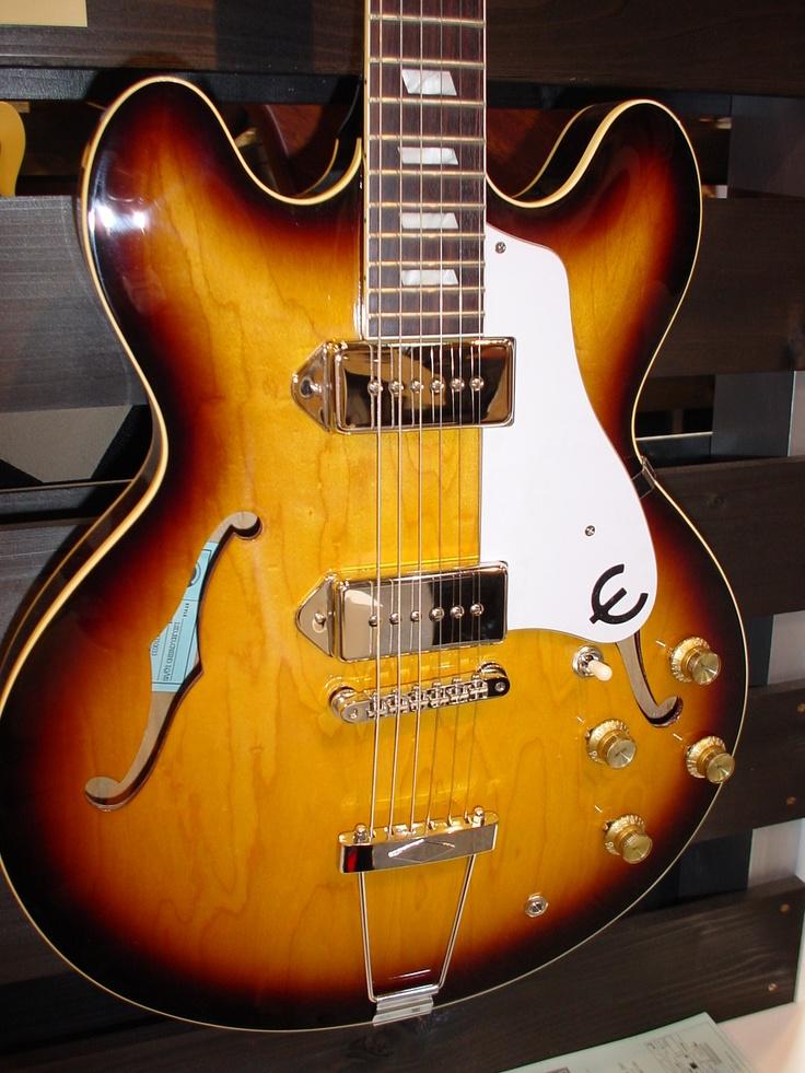 Epiphone Casino... amazing guitar used by John Lennon... | Things ...