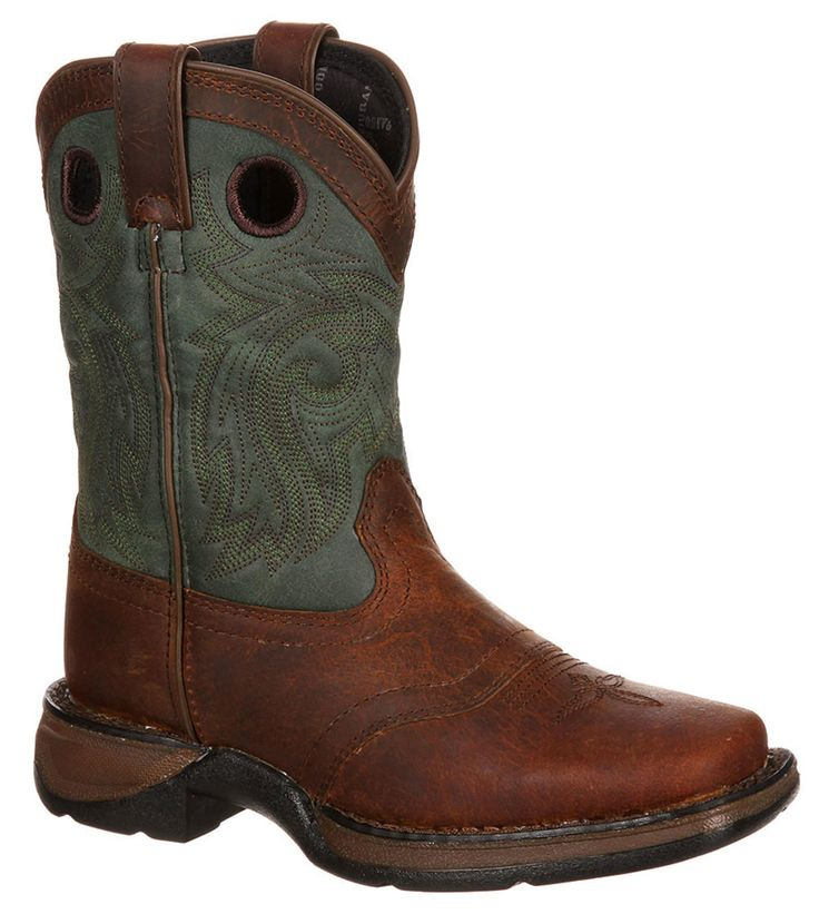 8'' Adolescent Saddle Western Boot by Durango