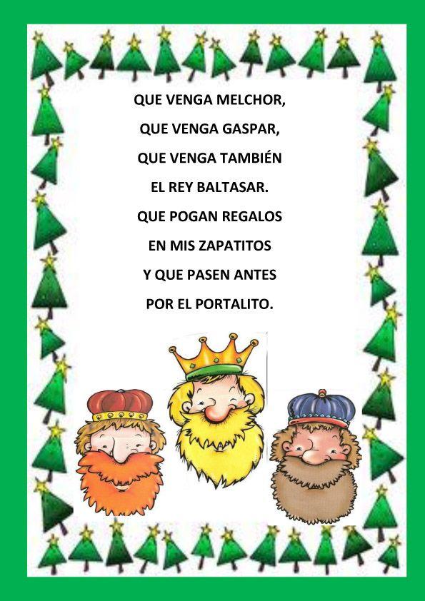 poemas de navidad REYES MAGOS BUENO 158x225