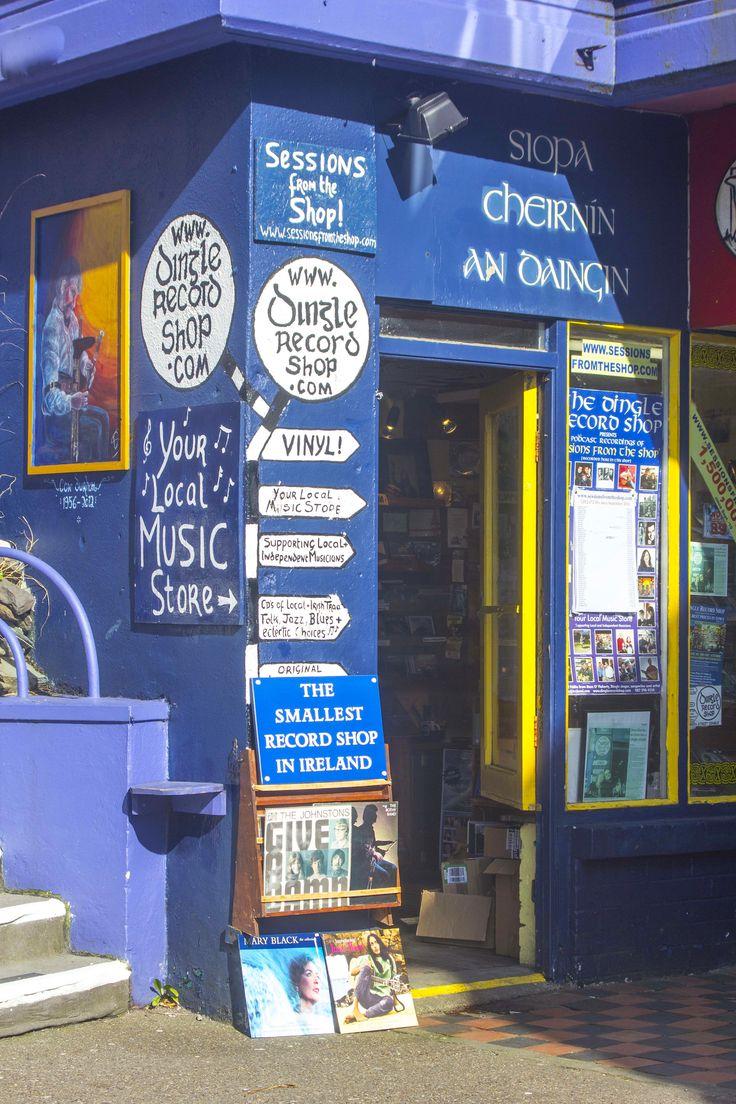 Dingle Record Shop, Green, Street Dingle, Co Kerry. Opposite St Mary's Church. www.dingllerecordshop.com