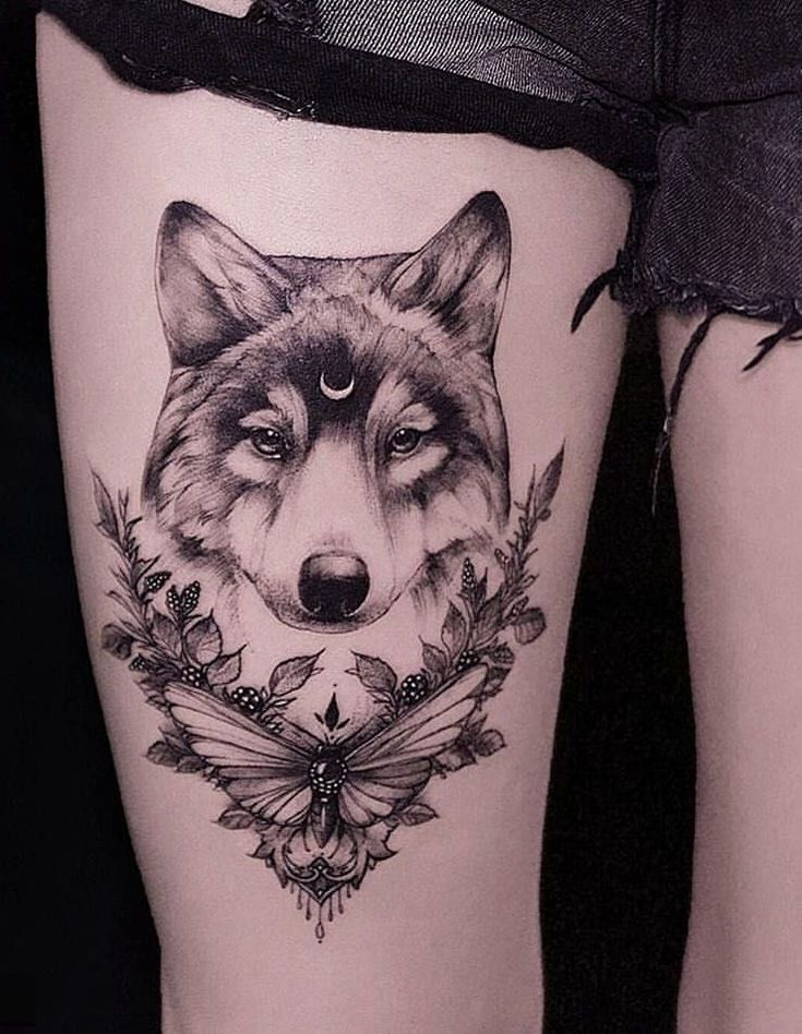 50 Der Schönste Wolf Tattoo Designs Das Internet je gesehen hat in 2020 | Wolf tattoo design, Small wolf tattoo, Wolf tattoo